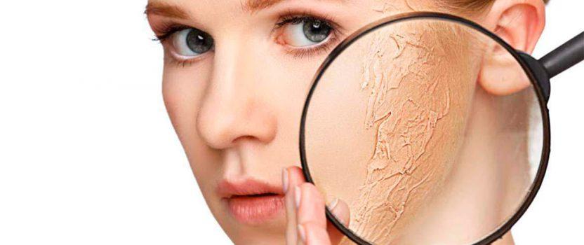 Diferencia entre piel seca y deshidratada